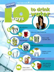 10 طرق لشرب الماء