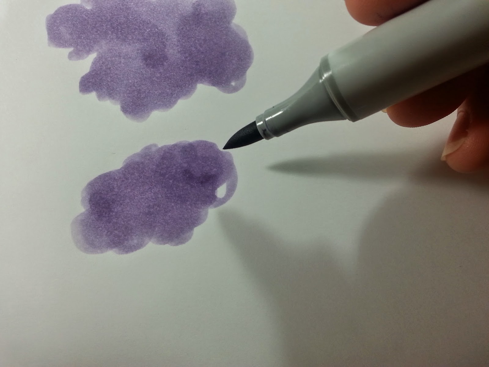 Copic italia: tutorial: nuvole parte 2   atmosfere