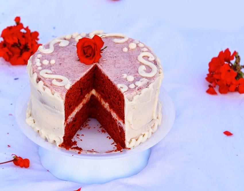 Red Velvet Cake / Kırmızı Kadife Kek