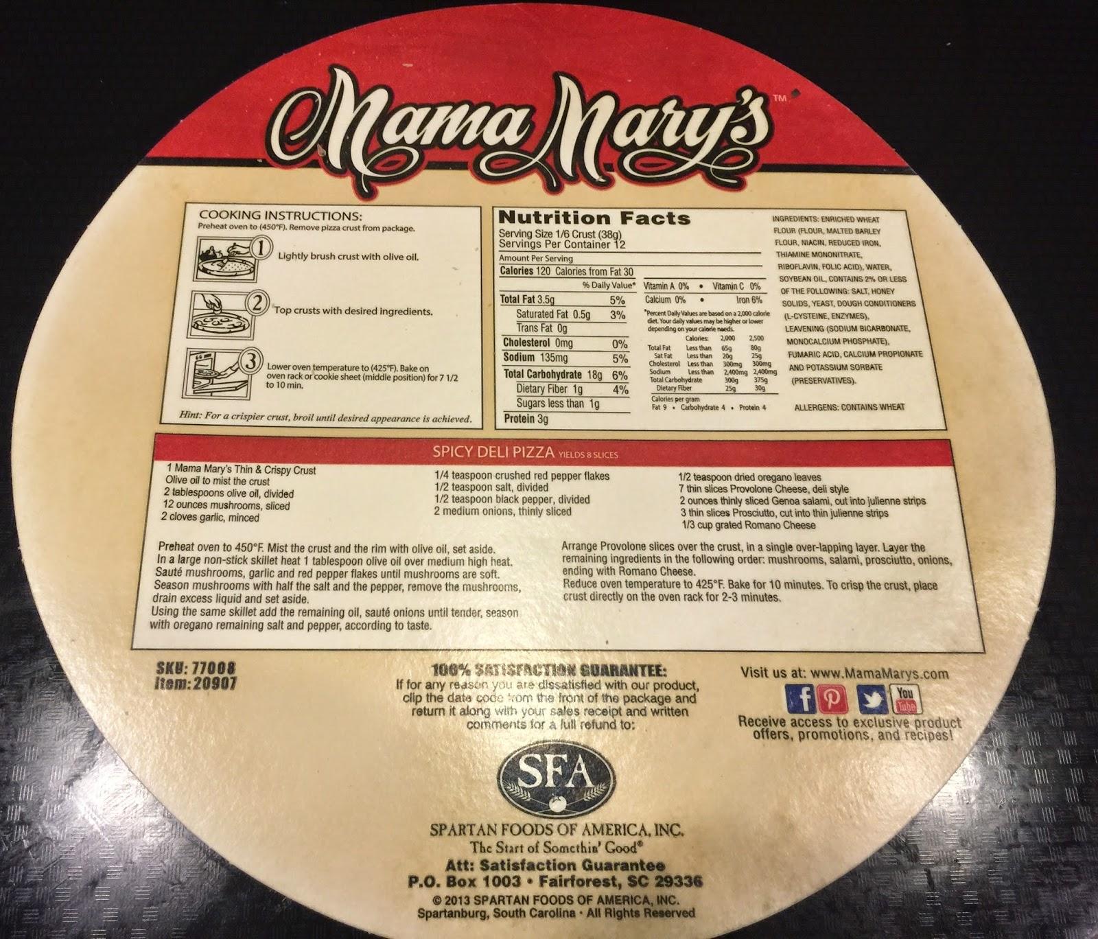 Taste Of Hawaii Mama Mary S Thin And Crispy Pizza Crusts