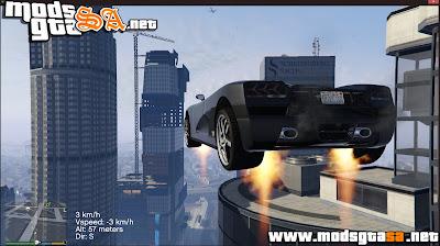 V - Mod Jetpack para Veículos GTA V PC