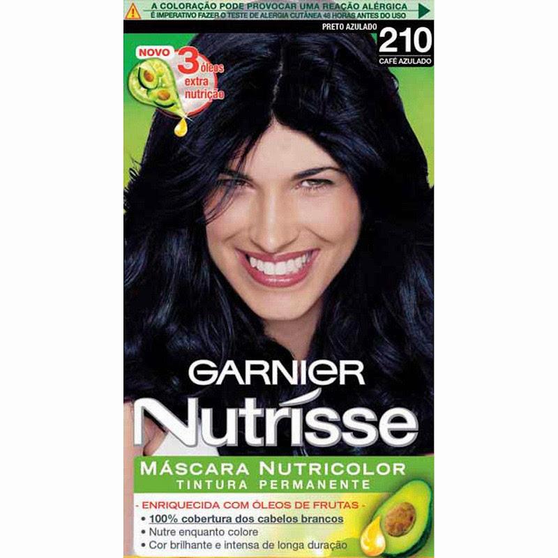Qual a tinta que voce usou quando tinha cabelo preto? Tinta da Garnier  title=