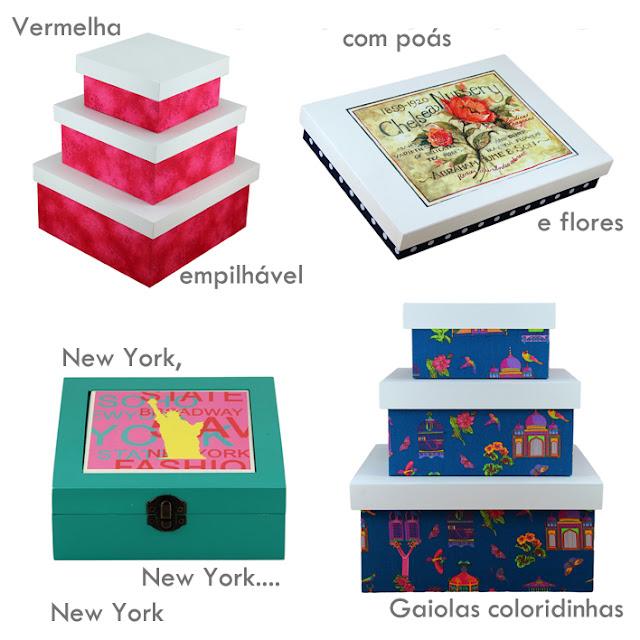 objetos de decoração, caixas organizadoras, caixas decorativas, caixas artesanais