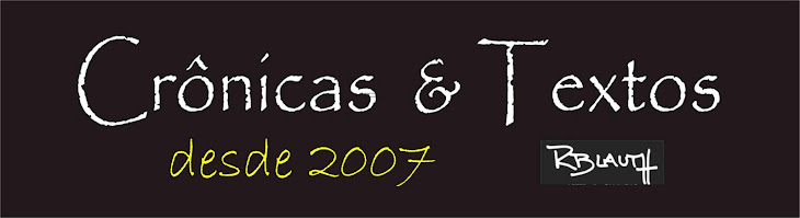 CRÔNICAS & TEXTOS