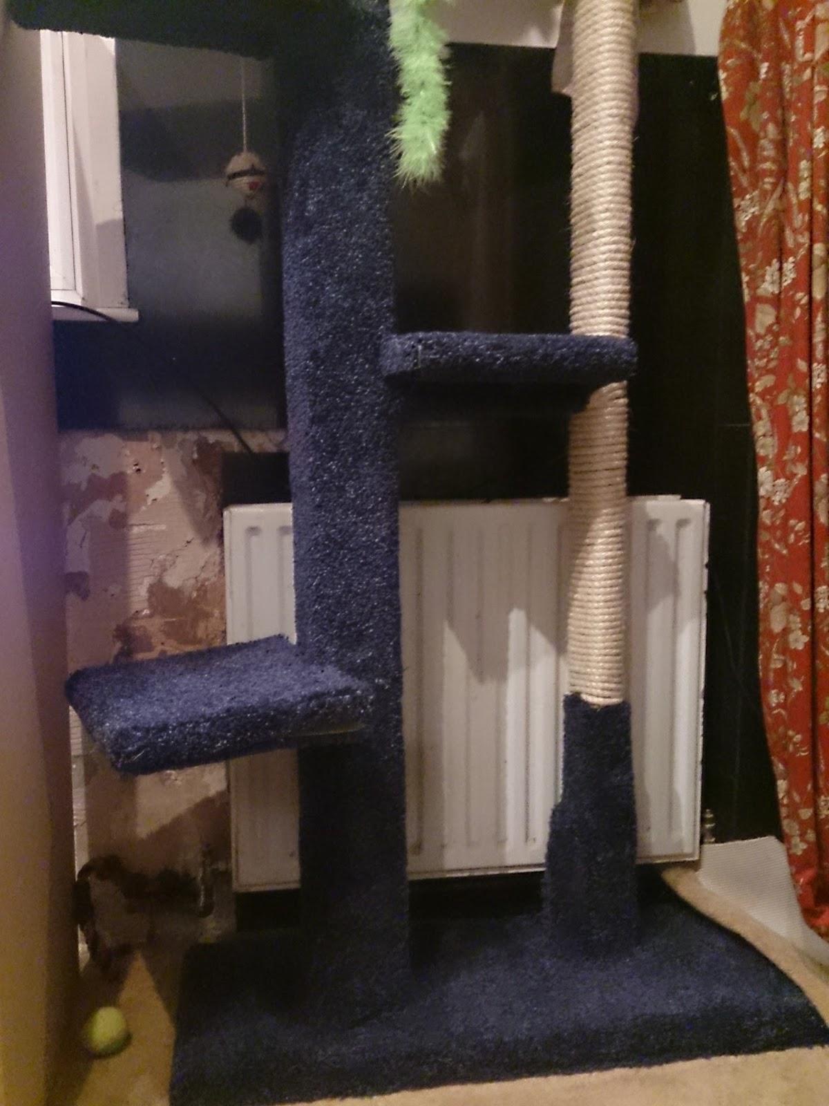 Robin Sparkles Blog Diy Homemade Handmade Cat Tree