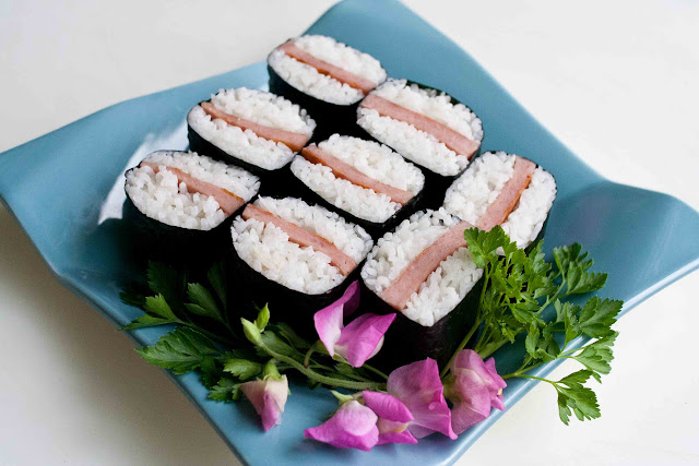 how to make spam musubi sauce teriyaki sauce
