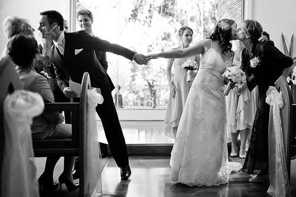Трогательные моменты на свадьбе видео