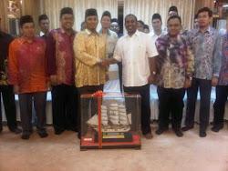 Lawatan rasmi GB4B ke kediaman MB Perak