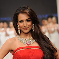 Malaika arora khan in a fashion show