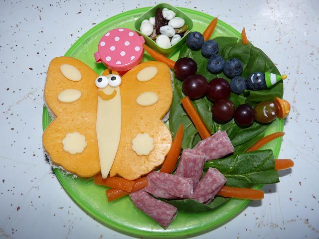 butterfly caterpillar metamorphosis lunch