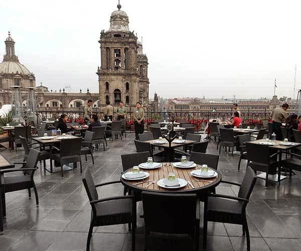 Terraza el balc n del z calo experiencia gastron mica de for Cafe el jardin centro historico