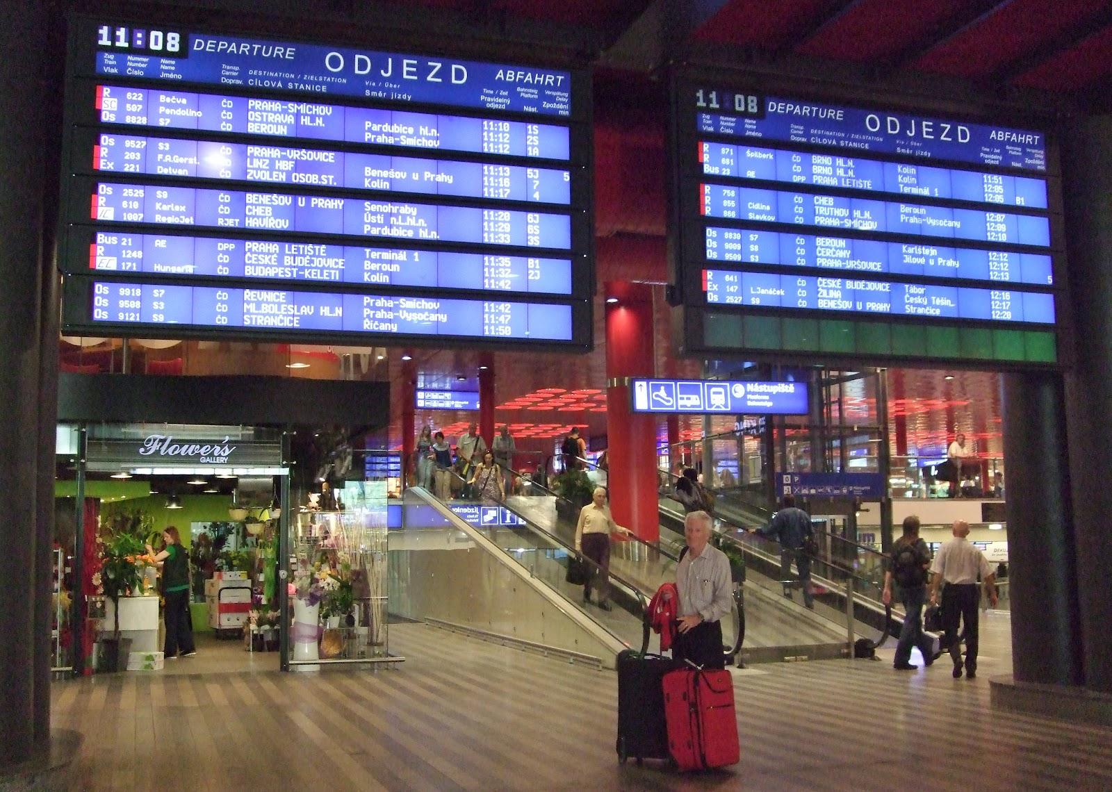 Scandinavia and eastern europe prague for Dresden to prague train