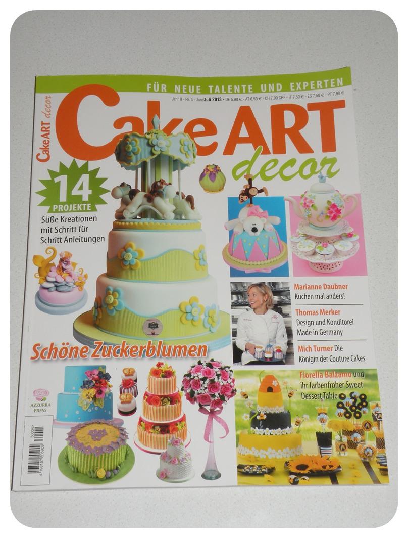 Cake Art Spezial Zeitschrift : ZUCKERWELT: Mai 2013