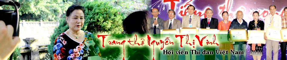 Trang thơ Nguyễn Thị Vinh