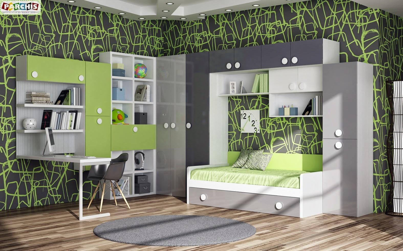 Cama mesa abatible camas autoportantes fotos tipos de for Camas para habitaciones juveniles