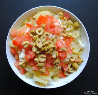 tapas espagnol salade russe