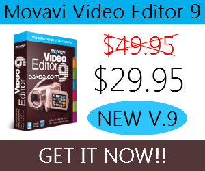 Movavi Video Editor Discount