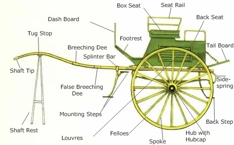 Sherlock Holmes Society of St Charles  I love this    diagram    of a dog    cart