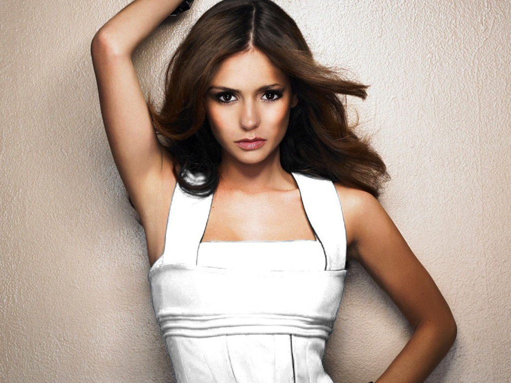 Nina dobrev hot and naked