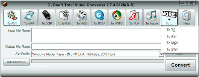 OJOsoft Total Video Converter 2.7.4.0126 Portable (AVI, MP4, 3GP, MPEG, MOV, MWV, FLV, MP3)