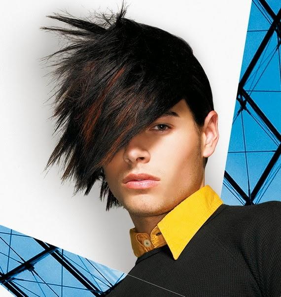 Men Emo Hairstyle