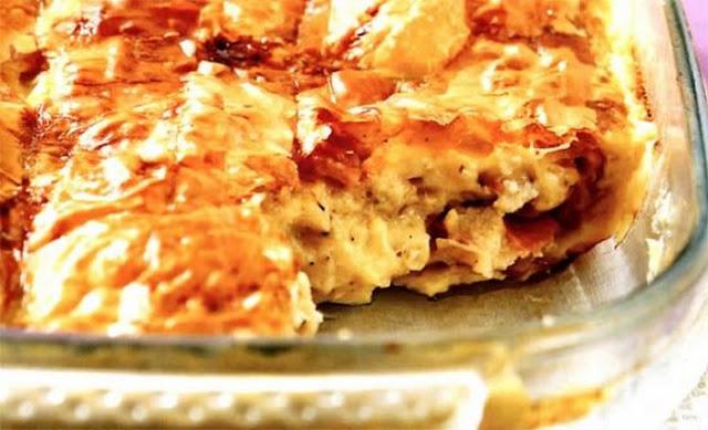 ζαμπονοτυρόπιτα-Η συνταγή της ημέρας-πίτες-ελληνικές συνταγές-λόγια απλά