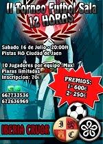 II Torneo Futbol Sala 12 Horas