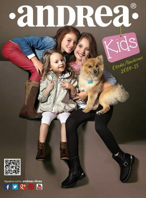 Catalogo Andrea kids otoño invierno 2014 2015