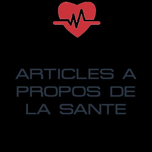 Articles à propos de la santé