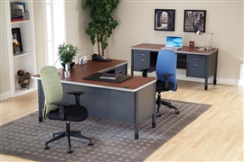 Mesa Series Heavy Duty Office Desks by OFM