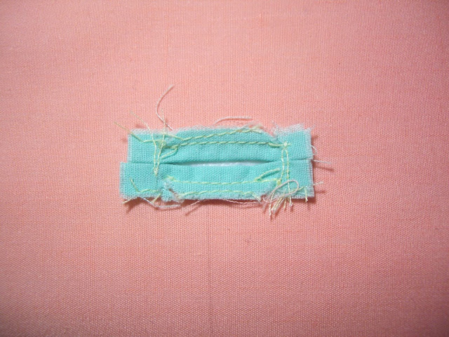 making sewing bound buttonhole tutorial how-to