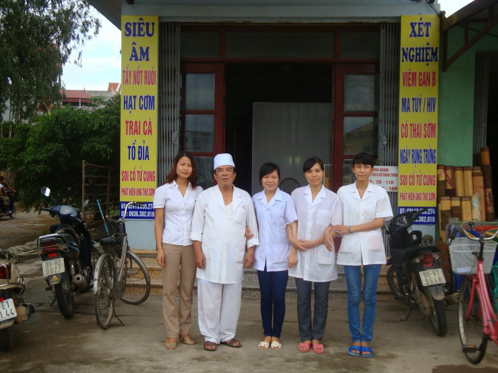 Trịnh Thị Chung và đồng nghiệp