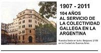 Historia del Centro Gallego en Bs As.