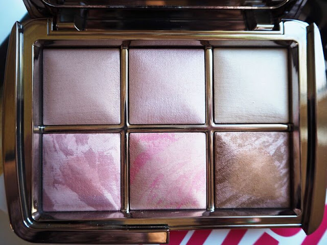 Hourglass Ambient Lighting Edit, palette, blush, bronzer, ambient lighting powder, swatches, review