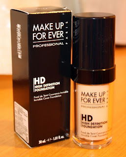 Salubrious Selection: Make Up For Ever HD Foundation