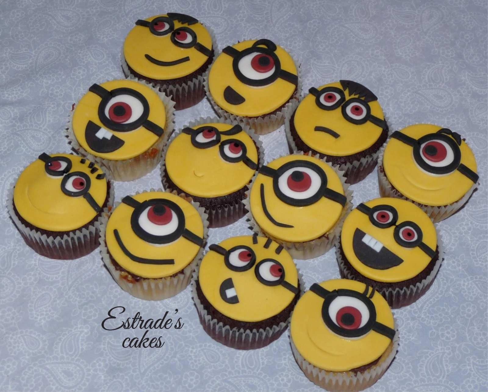 cupcakes de minions - 1