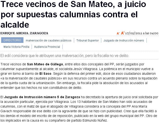 El blog de san mateo de g llego el fiscal no aprecia - El tiempo en san mateo de gallego ...
