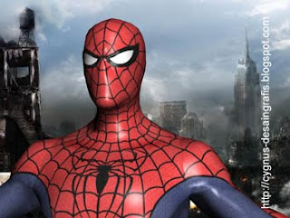spiderman 3D max