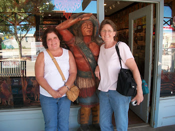 My friend and I in Tombstone