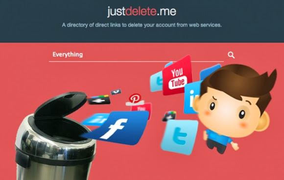احدف أي حساب خاص بك على الشبكات الاجتماعية نهائيا