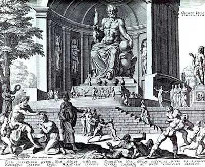 تمثال زيوس , صور عجاءب الدنيا السبع