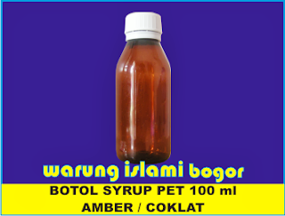 Botol PET Coklat/  100 ml