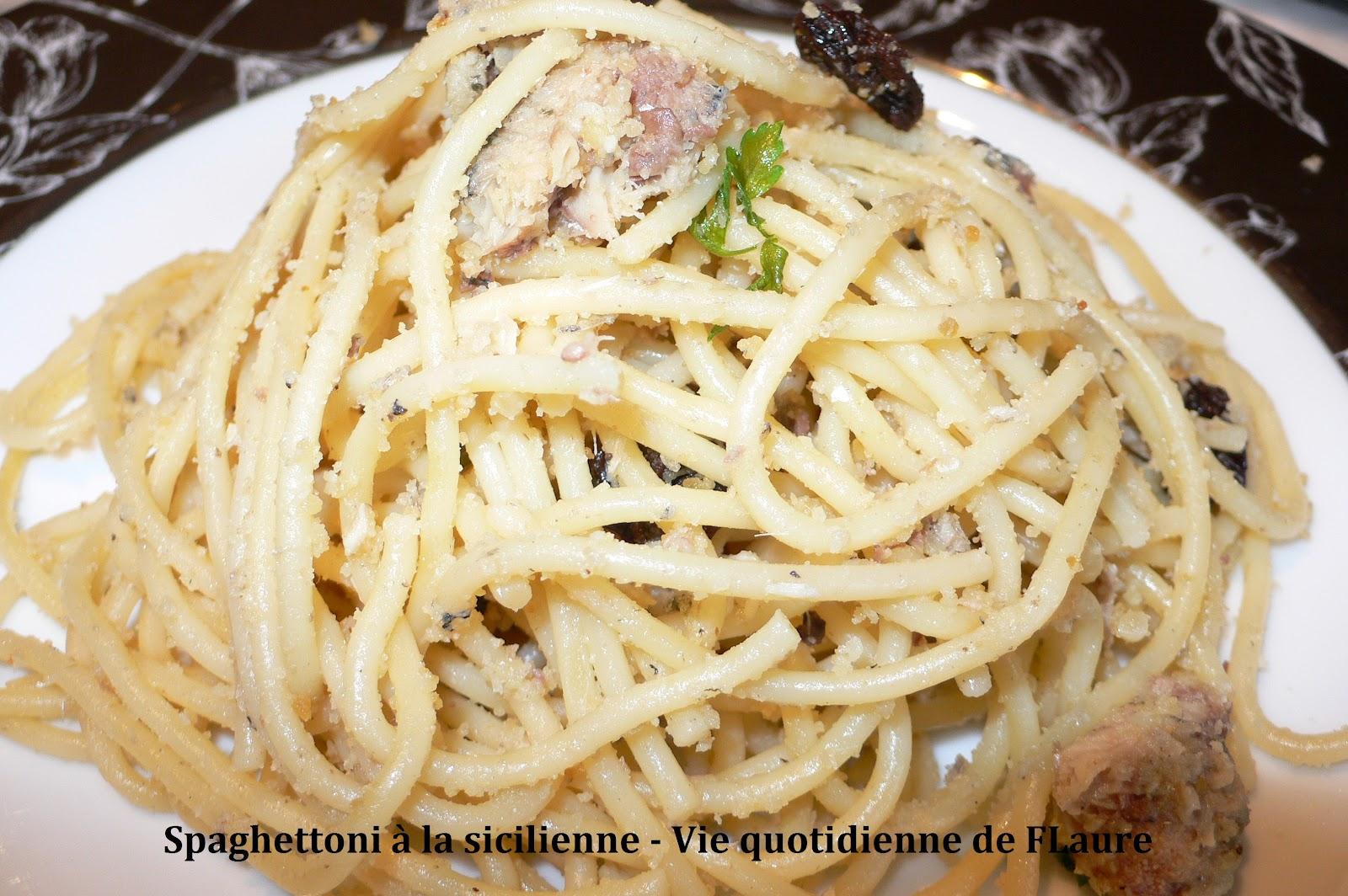 Spaghettoni la sicilienne blogs de cuisine - Blog cuisine sicilienne ...