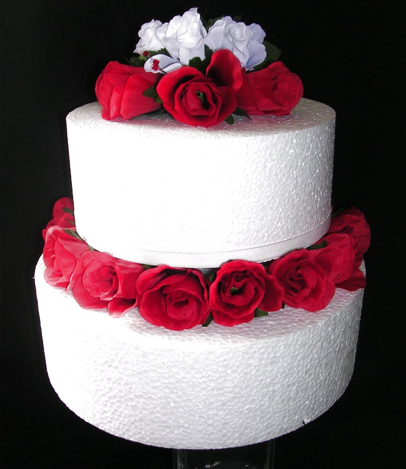 Crystal Velvet Weddings: Wedding Cake ~ Roses