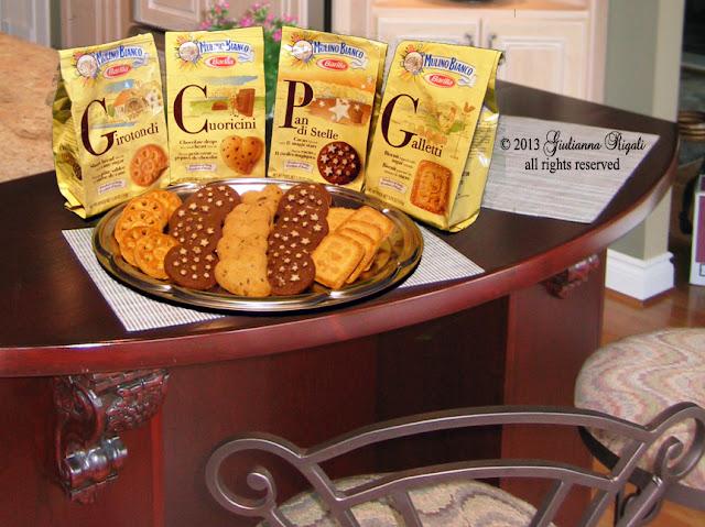 Pan di Stelle, Galletti, Girotondi, and Cuoricini Cookies