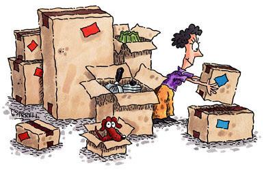 comic look at unpacking