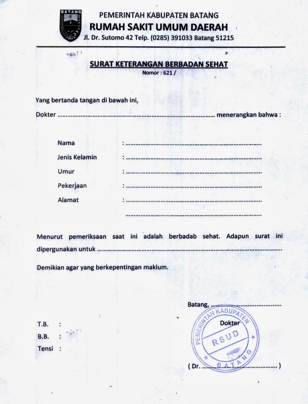 Contoh Surat Format Surat Surat Lamaran Contoh Proposal Contoh ...