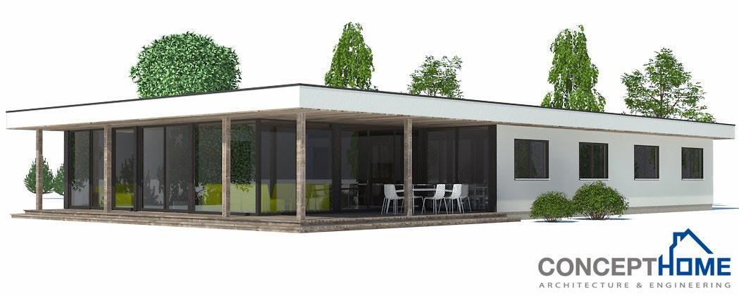 Projetos de casas planta de casa moderna ch169 for Casa quinta moderna