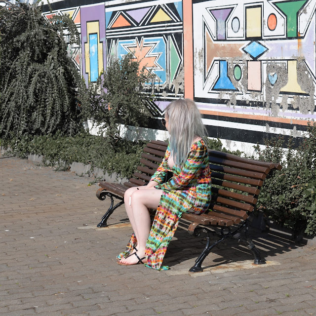 Sammi Jackson - Madeira // Choies Long Kimono