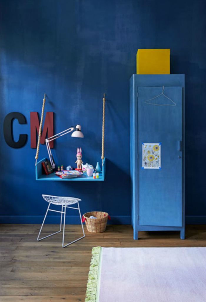 DIY desk for children's room from vtwonen
